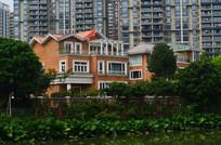 古典别墅风格建筑图片