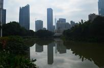 江景建筑风光图片