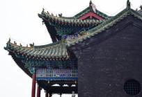 琉璃瓦古建筑图片
