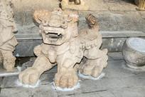 蒙古石狮子雕塑