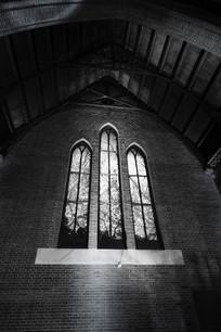 上海新天安教堂玻璃长窗