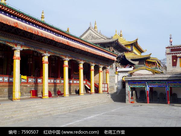 寺庙建筑图片