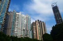 现代都市建筑风景图片