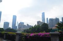 花园城市建筑风光图片