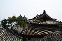 蓬莱阁建筑顶设计