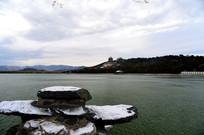 雪后佛香阁昆明湖