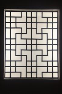 传统中式木窗