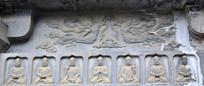 飞天和佛像石刻艺术