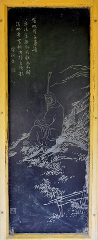 佛教尊者罗汉雕刻-石刻艺术