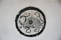 壁刻古代乌龟图案