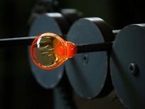 人工吹制玻璃杯生产过程