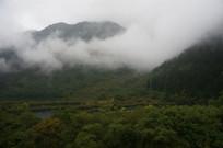 山水间的云雾