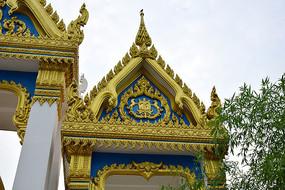 寺院大门建筑景观