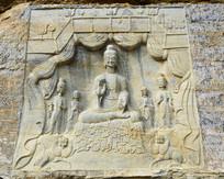 佛像石刻传统艺术