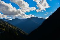 唯美阳光国道318风景