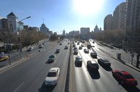北京西二环路