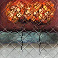 厚油抽象油画玄关壁画客厅背景墙