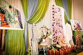森系婚礼布置摄影