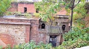 農村老房子建筑攝影