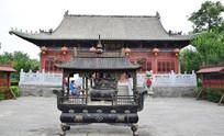 周公庙古建筑摄影图