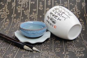书法茶韵幽香