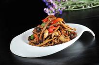 鸡柳茶树菇