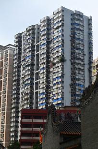 高楼建筑风景