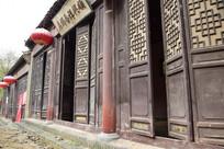 古代街道商铺门面