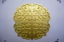 蒙古族风格图案墙壁装饰