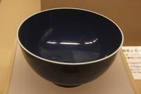 清代祭蓝碗