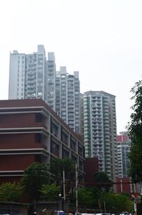 小区大楼建筑图片