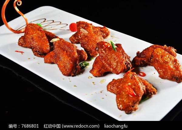 炸鸡中翅图片