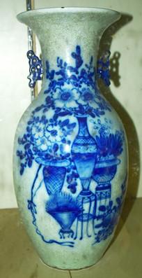 古代青花瓷-花瓶