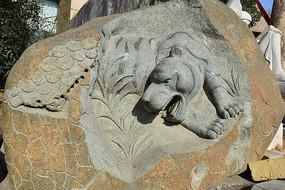 虎-十二生肖石雕