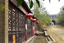 老寨门和老店铺图片