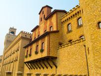 意大利式房屋建筑