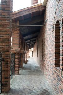 意大利式建筑走廊