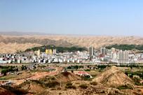 黄土高原上的小城