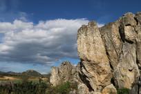 白云与石头