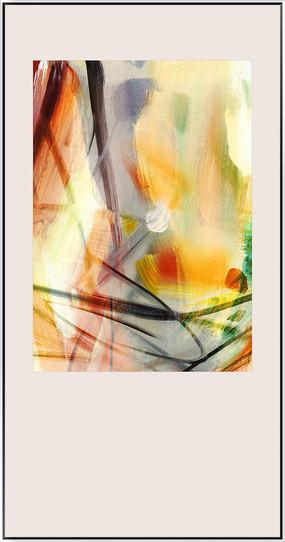 爆款抽象油画
