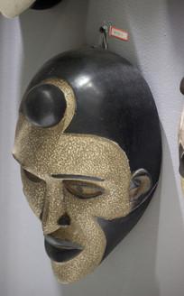 馆藏非洲面具
