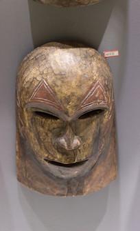 馆藏肯尼亚面具
