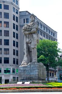 解放军雕塑