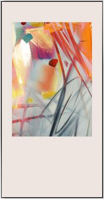 现代抽象油画无框画装饰画