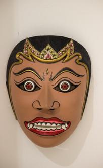印尼手工面具