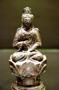 元代观音菩萨坐像