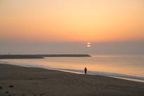 海边日出自然风光