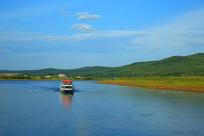 美丽的额尔古纳河