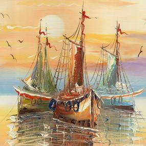 风景油画 装饰画 风景画 欧式油画