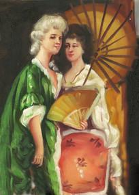 宫廷 宫廷油画 欧式宫廷人物